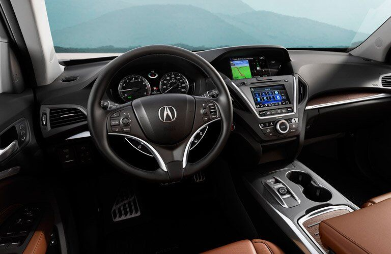 2017 Acura MDX dashboard