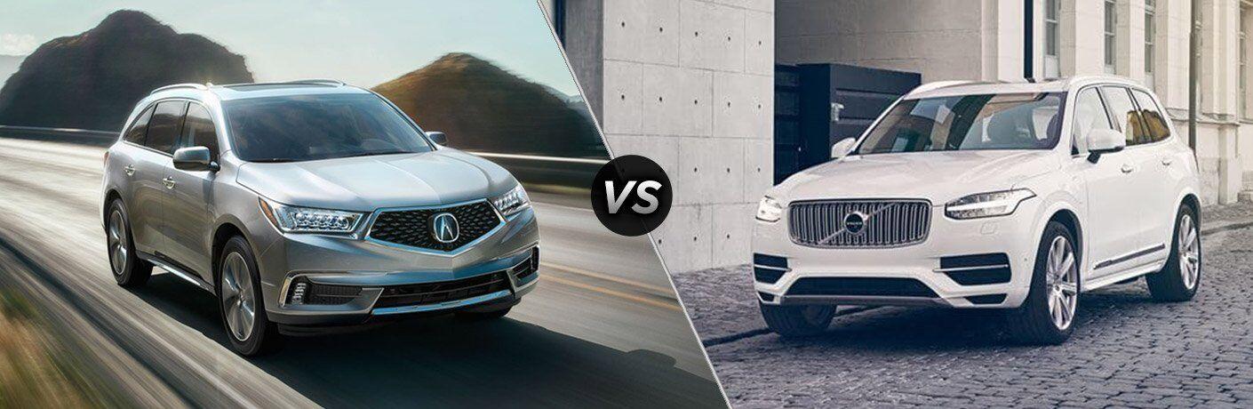 2017 Acura MDX vs 2017 Volvo XC90