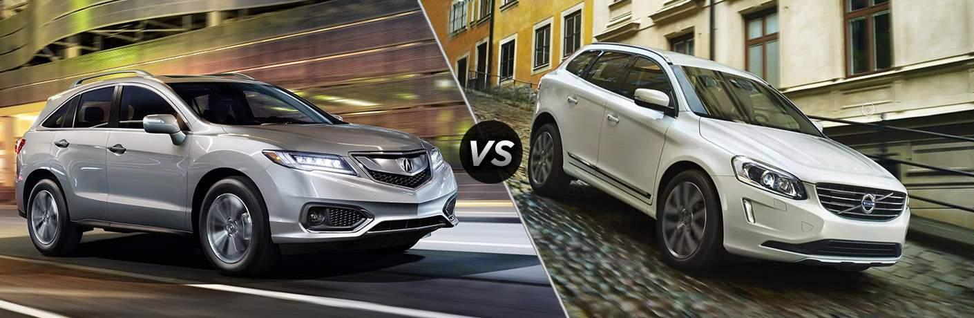 2017 Acura RDX vs. 2017 Volvo XC60