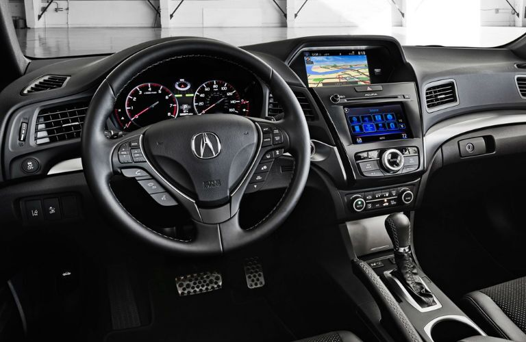 2017 Acura ILX Pittsburgh PA Interior Technology Dashboard Steering Wheel