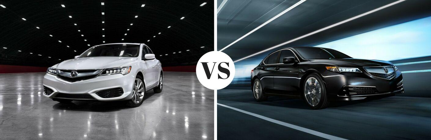 2017 Acura ILX vs 2017 Acura TLX