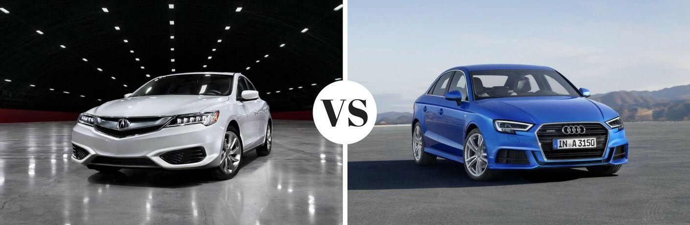 2017 Acura ILX vs 2017 Audi A3