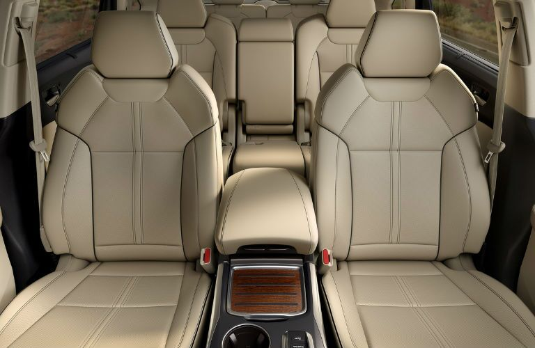 2017 Acura MDX Pittsburgh PA Interior Three-Row Seats