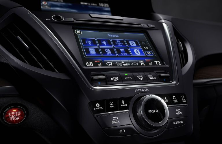 2017 Acura MDX Pittsburgh PA Interior Dashboard Infotainment Technology