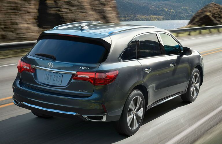 2017 Acura MDX Pittsburgh PA Exterior Side Driving Liftgate