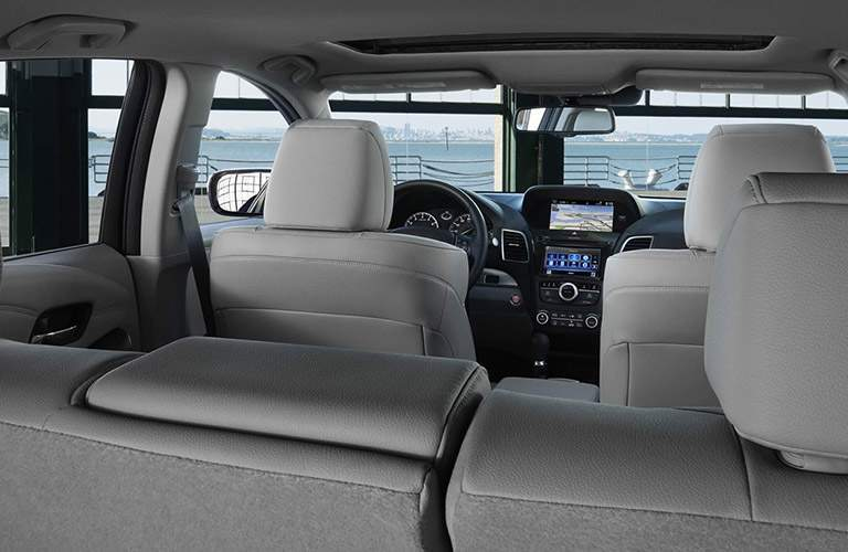 2018 Acura RDX rear seat view