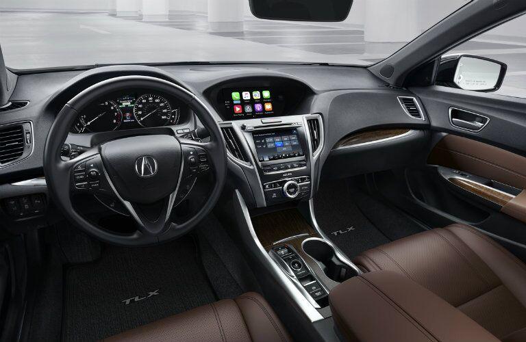 2018 Acura TLX interior dashboard