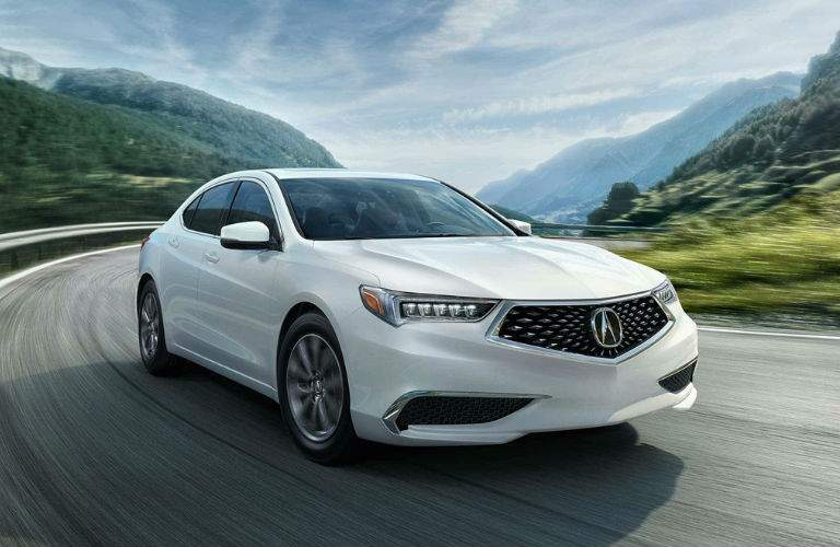 2018 Acura TLX exterior front view