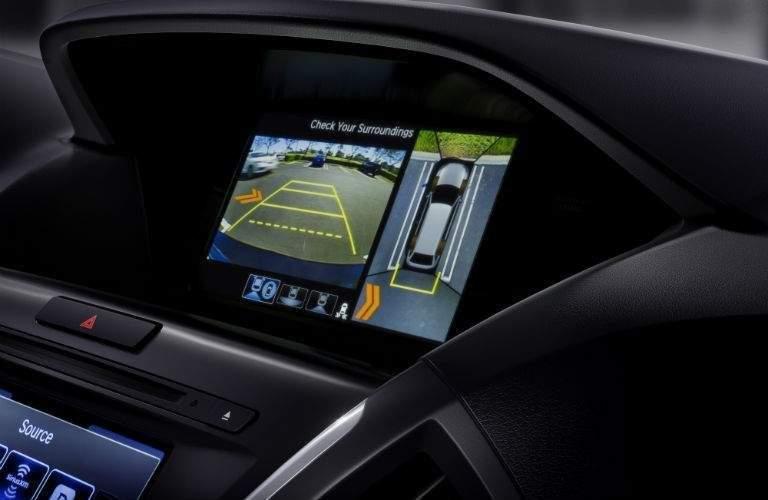 2018 Acura MDX infotainment screen