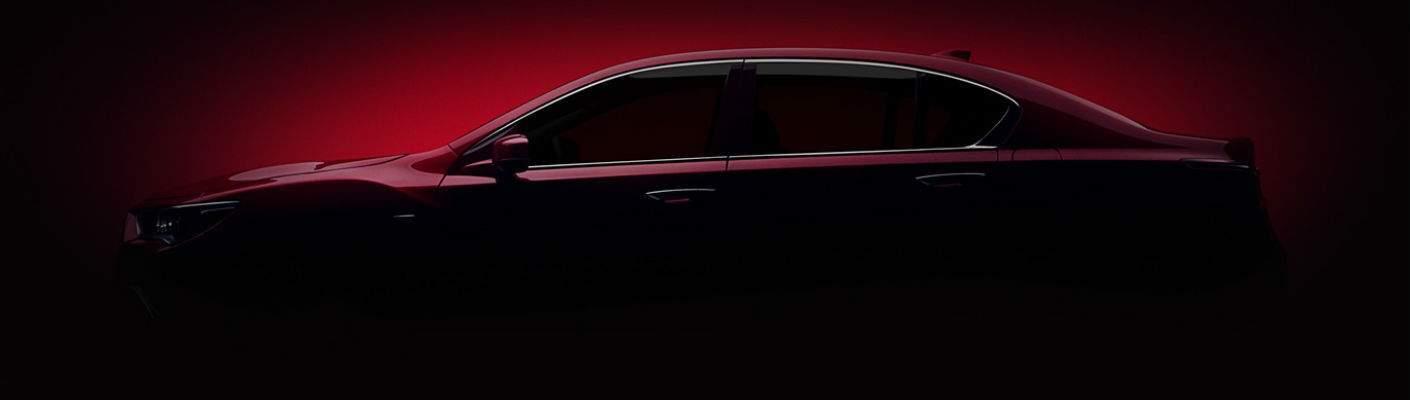 2018 Acura RLX in shadows