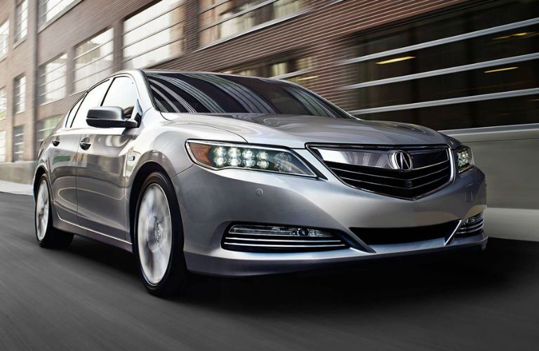 2017 Acura RLX Pittsburgh PA Front End Grille Driving Wheels
