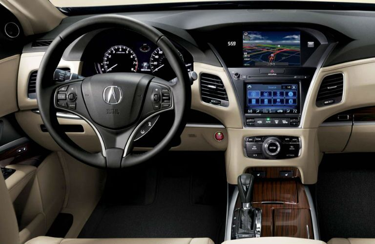 2017 Acura RLX Pittsburgh PA Interior Dashboard Technology
