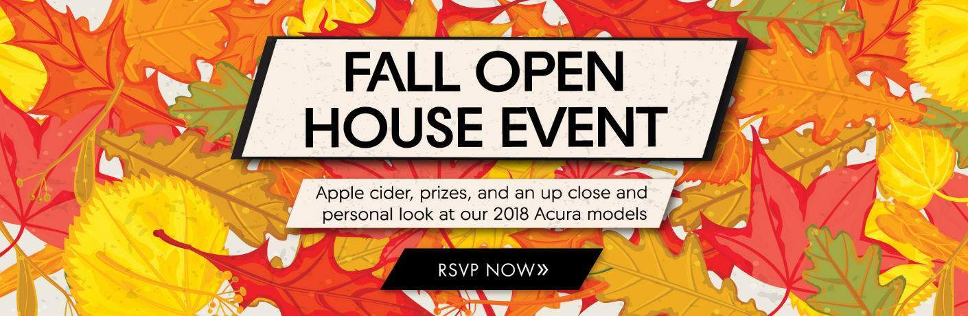 2017 Fall Open House Event at Baierl Acura