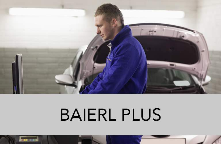 Baierl Plus button