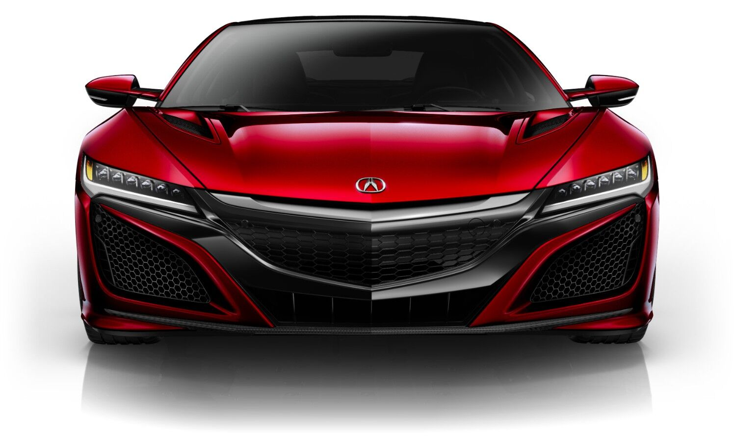 Valencia Red Pearl 2017 Acura NSX Pittsburgh Wexford PA