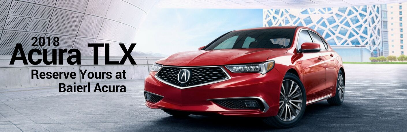 Reserve a 2018 Acura TLX in Pittsburgh, PA