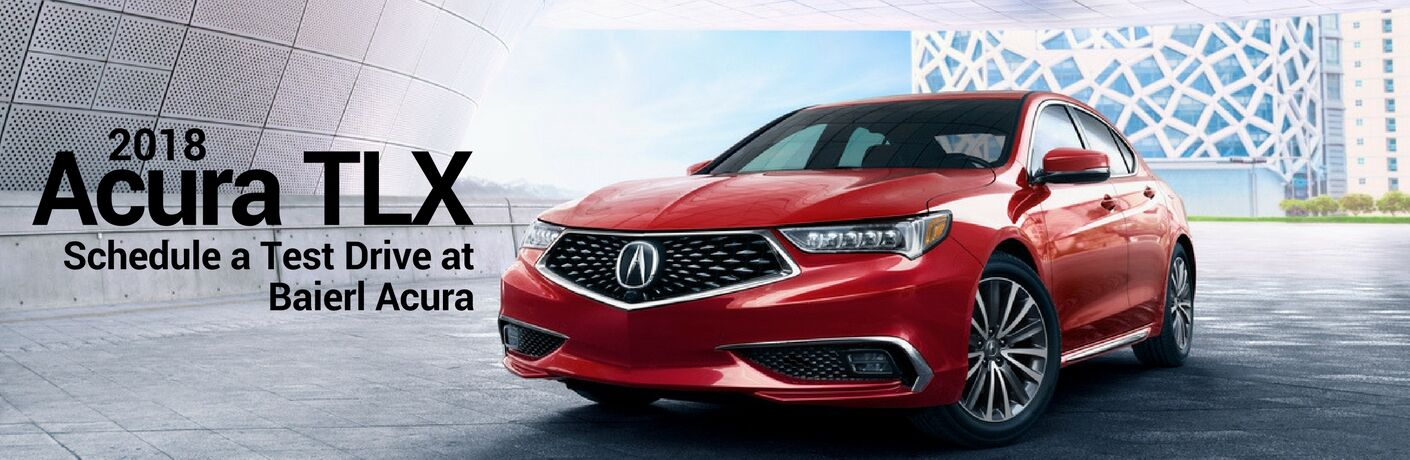 Test Drive a 2018 Acura TLX in Pittsburgh, PA