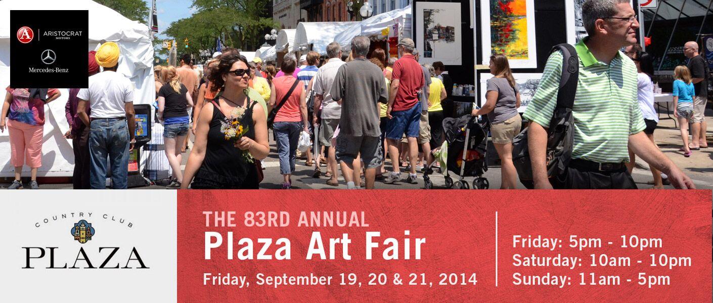 Plaza Art Fair 2014