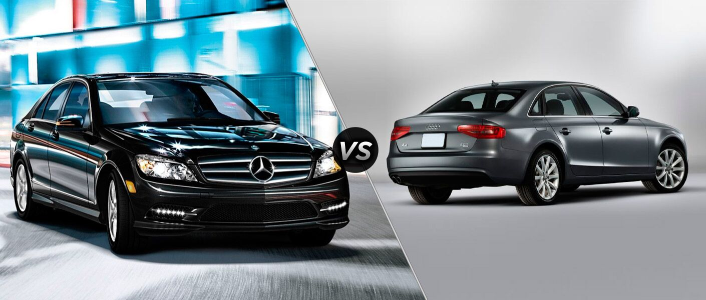 2014 Mercedes-Benz CLA vs Audi A4
