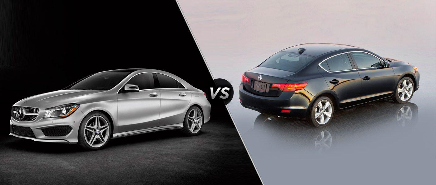 2014 Mercedes-Benz CLA vs Acura ilx