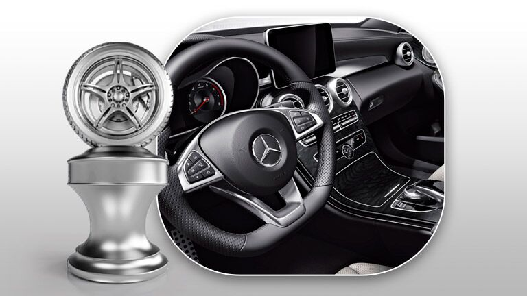 2015 Mercedes-Benz C-class Steering Wheel