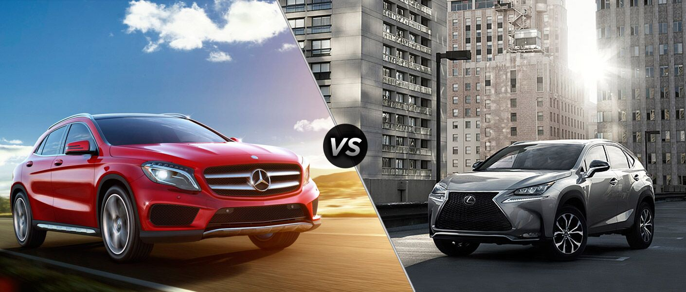 2015 Mercedes-Benz GLA vs 2015 Lexus 200t