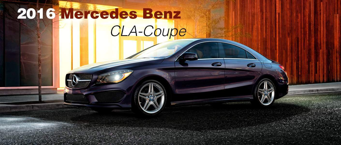 2016 Mercedes-Benz CLA side view Northern Lights color