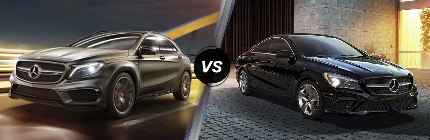 2016 mercedes benz gla vs cla body styles for Mercedes benz body styles