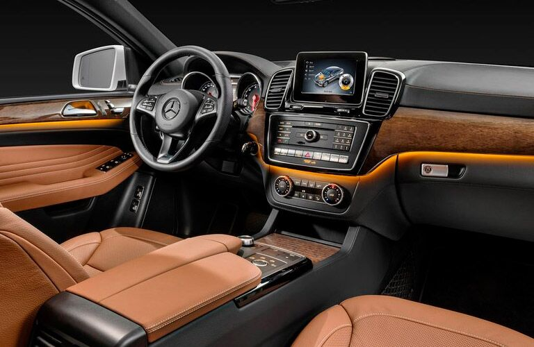 Mercedes-Benz GLE-Class Interior