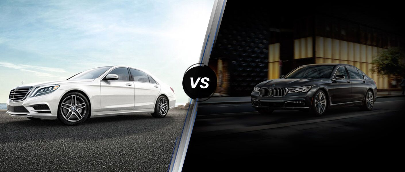 2016 Mercedes-Benz S-Class vs. 2016 BMW 7-Series