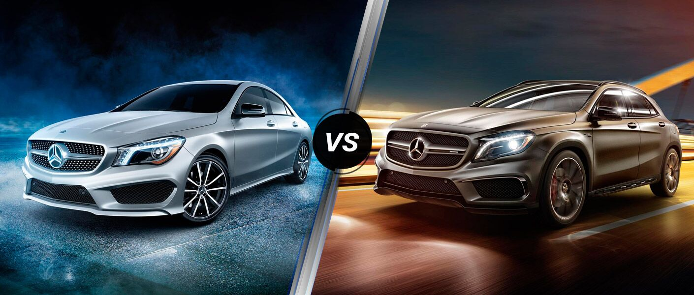 2016 Mercedes-Benz CLA vs 2016 Mercedes-Benz GLA