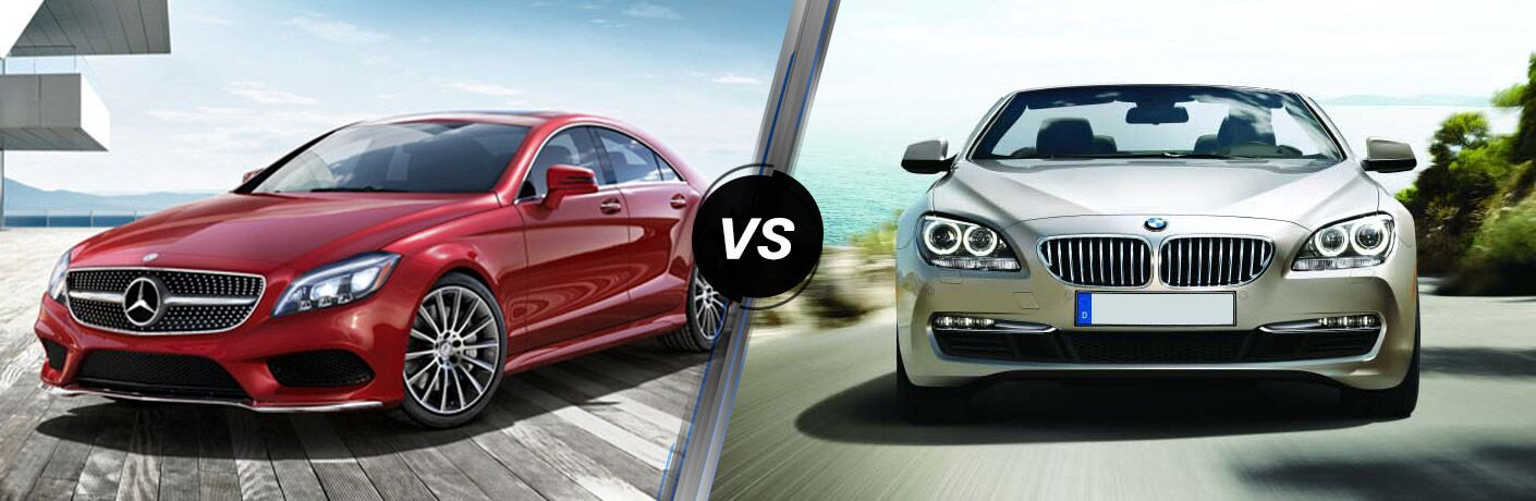 2016 Mercedes-Benz CLS vs 2016 BMW 6 Series