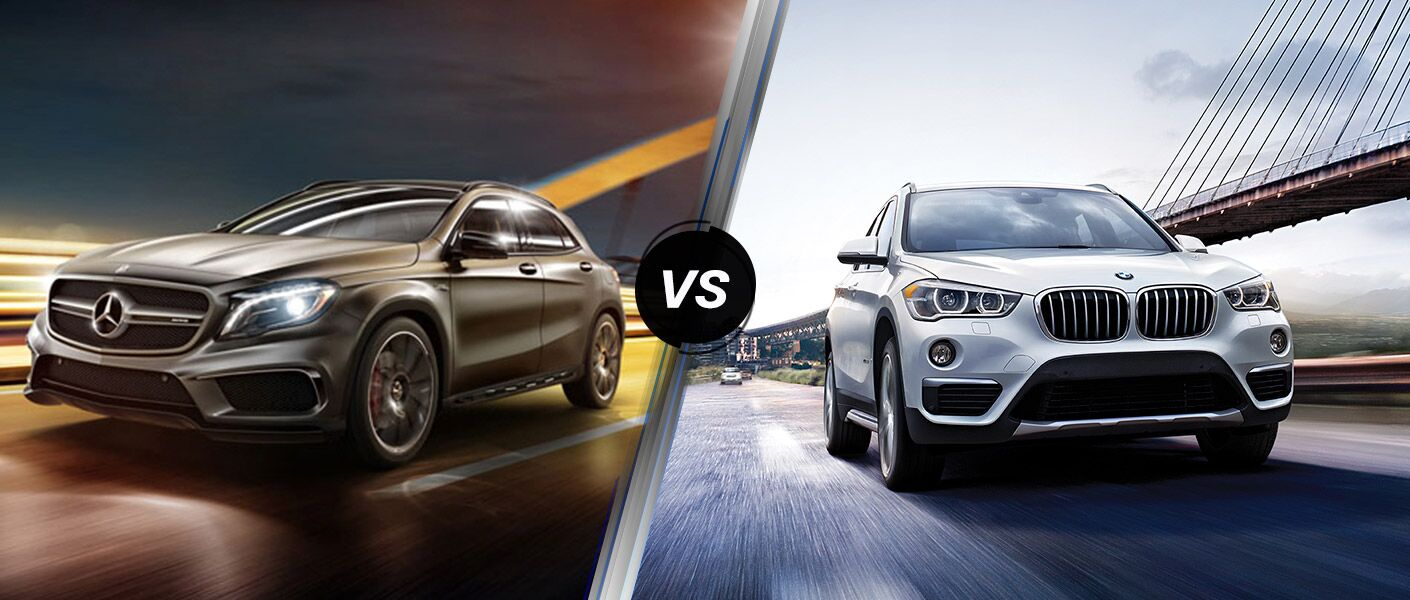 2016 Mercedes-Benz GLA vs. 2016 BMW X1 models