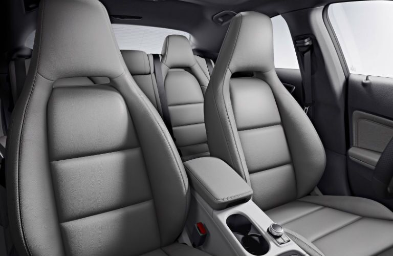 Comfortable seats of the 2016 Mercedes-Benz CLA sedan