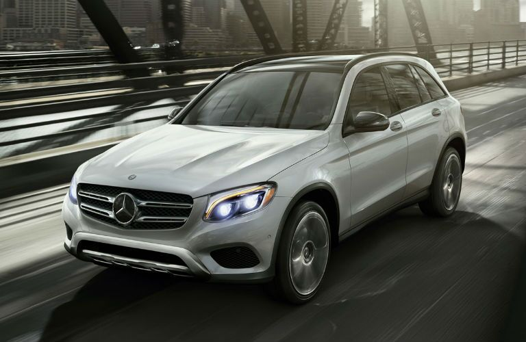 2016 Mercedes-Benz GLC in the city