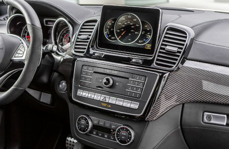 2016 Mercedes-Benz GLE-Class Interior COMAND