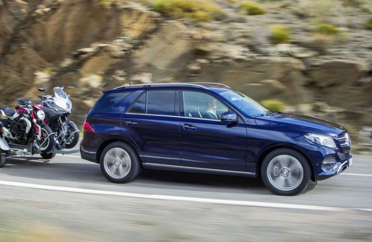 2016 Mercedes-Benz GLE-Class Towing Capacity