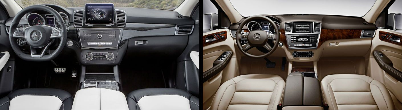 Drive The Mercedes Benz Gle Cl And Ml At Aristocrat To Start Your Own Side By Comparison