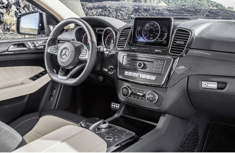 2016 Mercedes-Benz GLE 450 AMG Coupe Interior