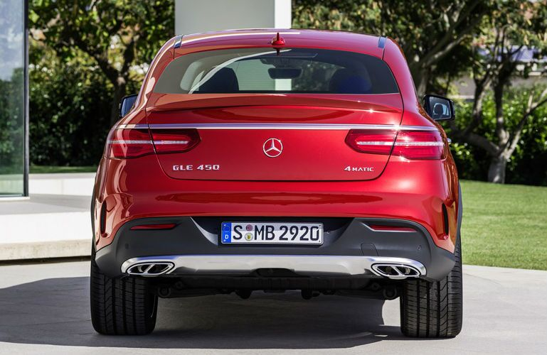 2016 Mercedes-Benz GLE 450 AMG Coupe Rear Trunk