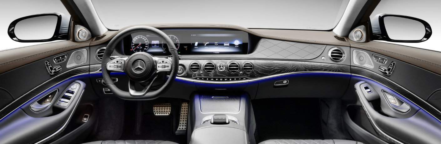 2018 mercedes benz s class interior space and features