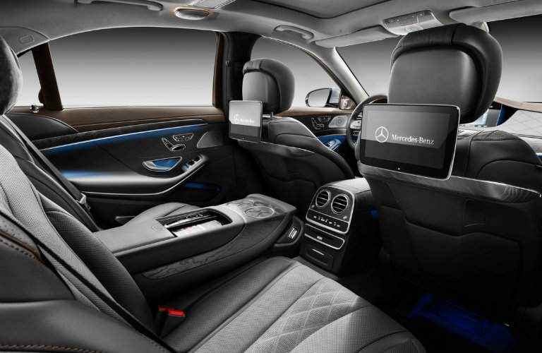 2018 mercedes benz s class interior space and featuresavailable rear entertainment system of the 2018 mercedes benz s class