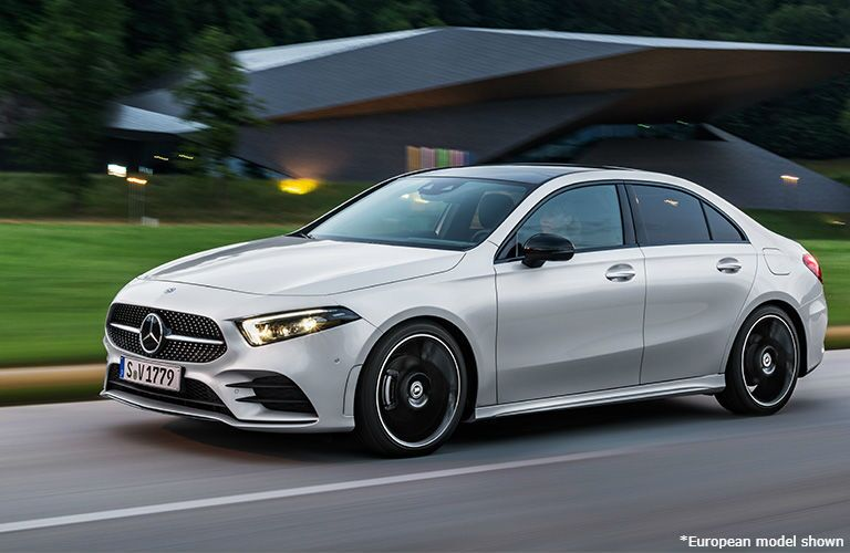 exterior of 2019 Mercedes-Benz A-Class