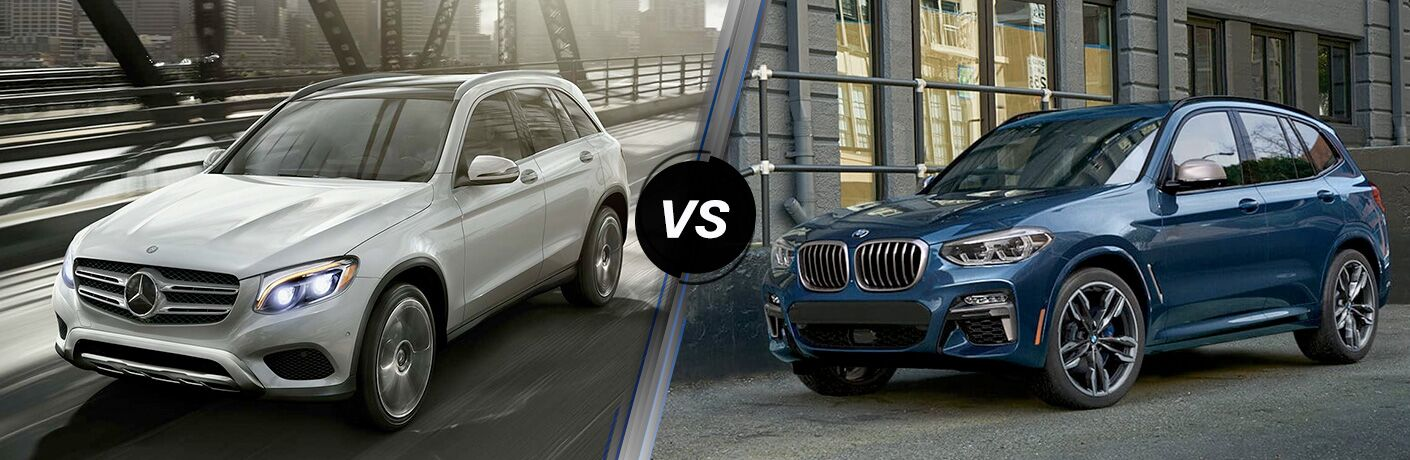 2019 Mercedes-Benz GLC Vs. 2019 BMW X3 comparison image