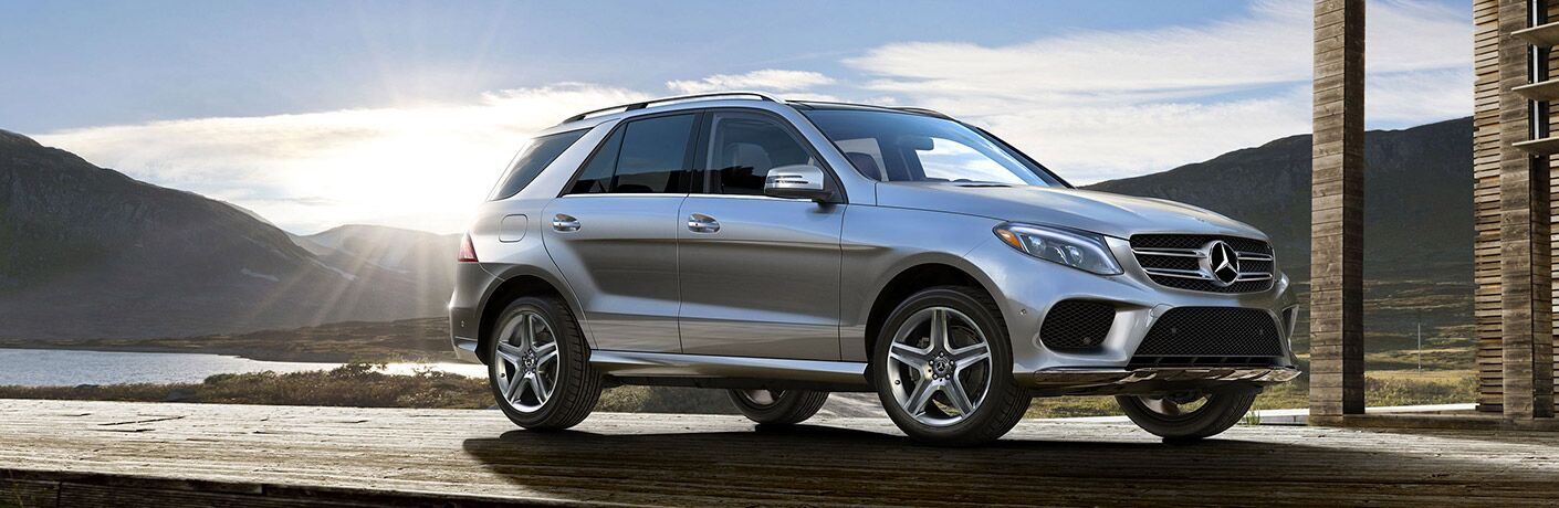 side view of a 2019 Mercedes-Benz GLE