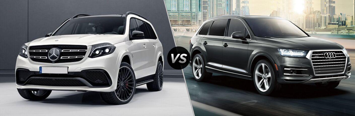 2019 Mercedes-Benz GLS vs 2019 Audi Q7 comparison image