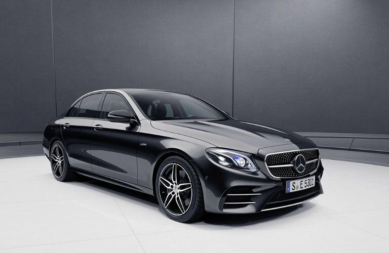 2019 Mercedes-Benz E-Class in a gray room