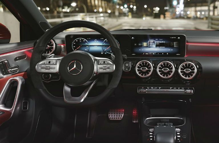 interior of 2019 mercedes-benz a-class