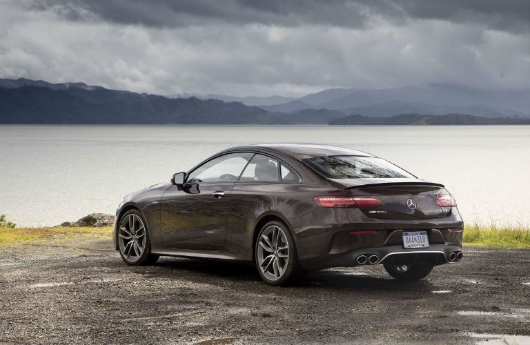 rear of e coupe for 2019