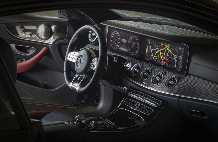 interior of 2019 mercedes-benz e-class sedan
